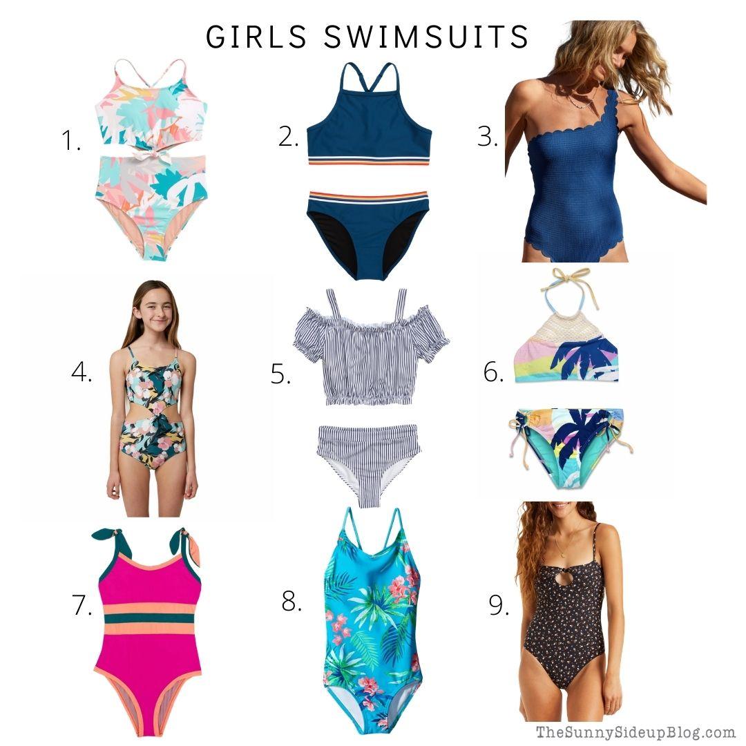 Girls Swimsuits (thesunnysideupblog.com)