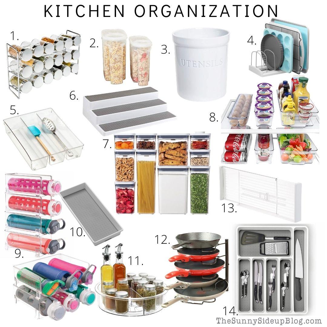 Kitchen Organization (thesunnysideupblog.com)