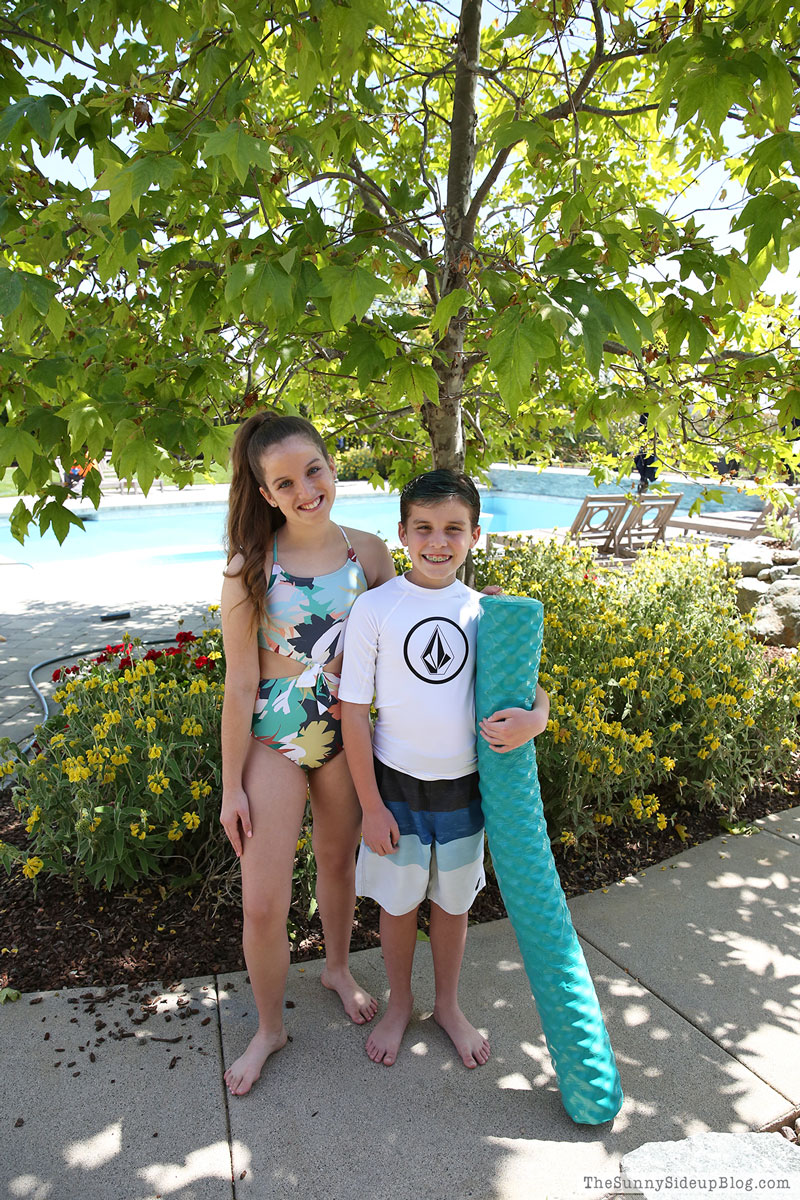 Kids Swimsuits (Sunny Side Up)