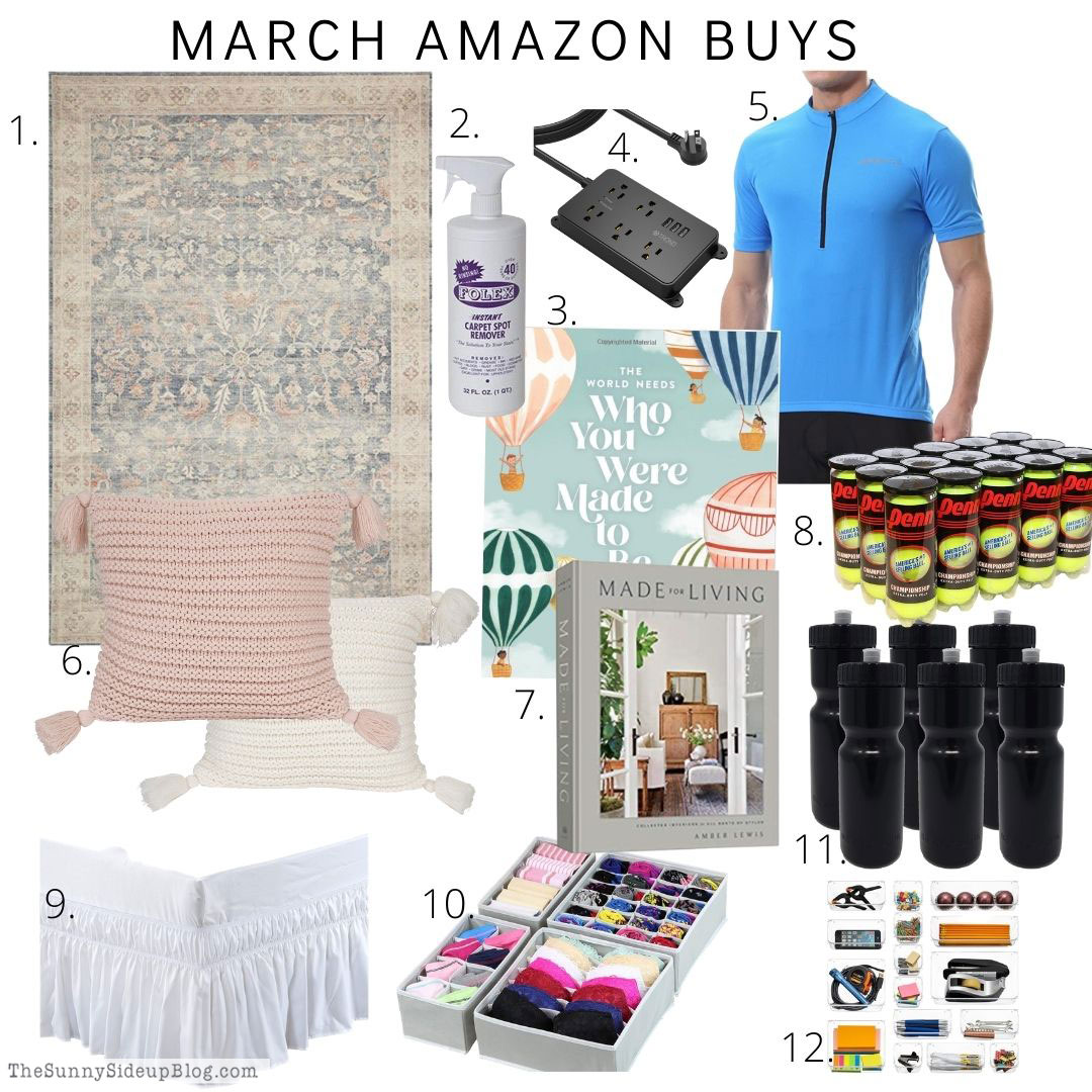 March Amazon Buys (Sunny Side Up)