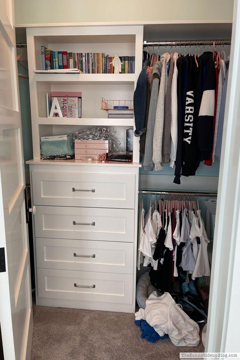 Organized Closets (Sunny Side Up)