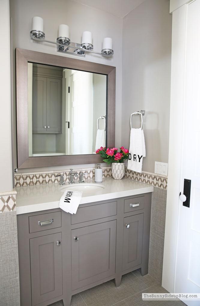 Organized Bathrooms (Sunny Side Up)