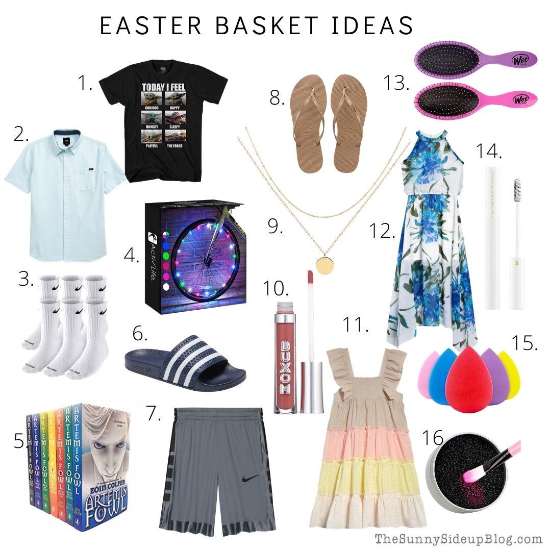 Easter Basket Ideas (thesunnysideupblog.com)