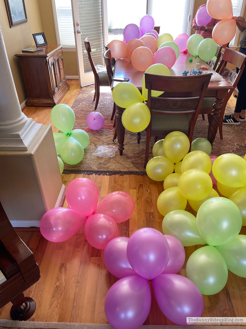 Balloon Arch (Sunny Side Up)