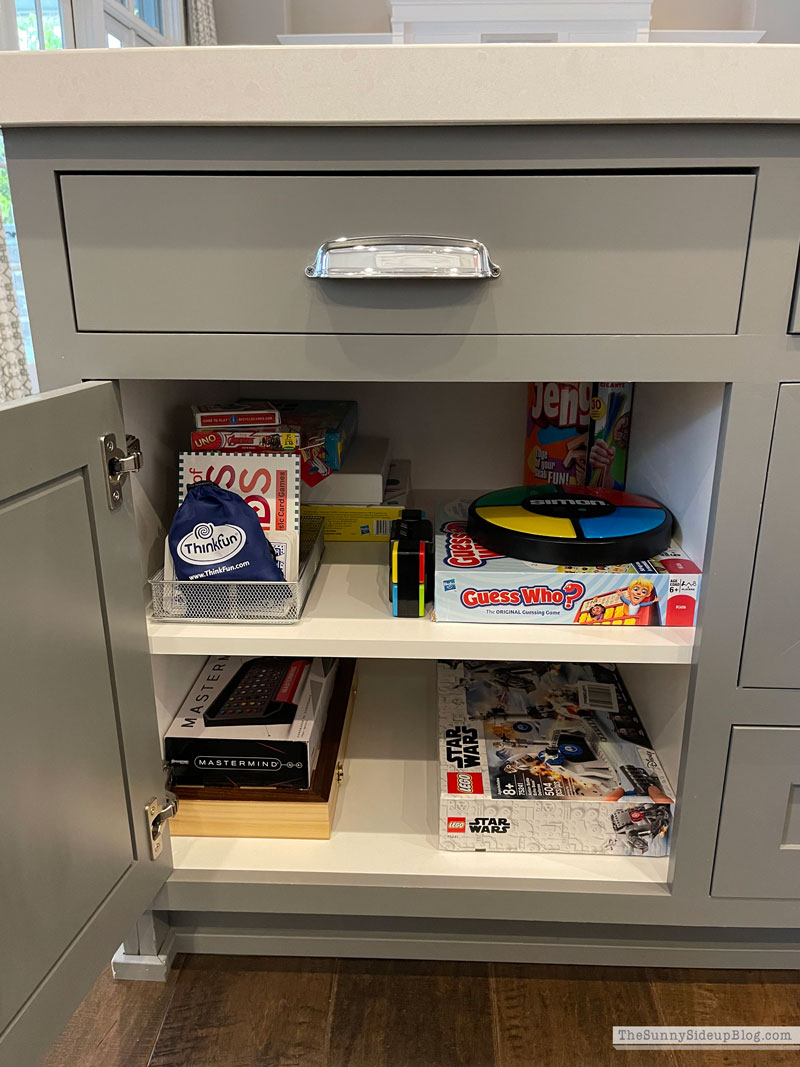 Organized Board Games (Sunny Side Up)