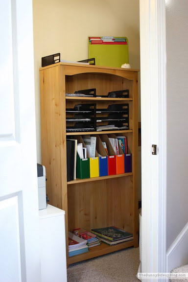 Home office and paper organization (Sunny Side Up)