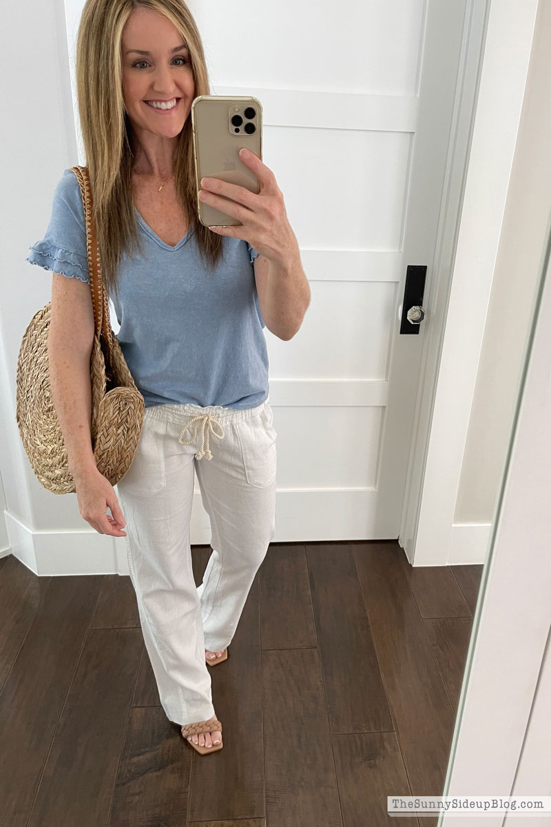 Favorite Straw Bags (Sunny Side Up)