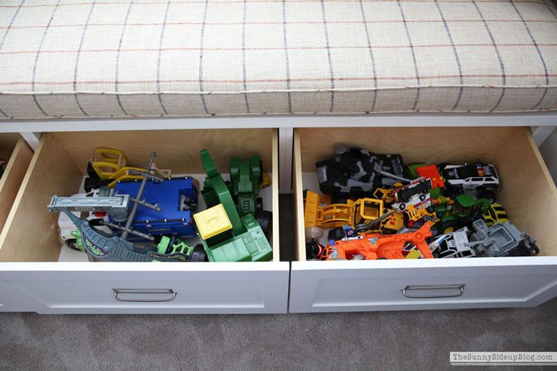 Toy Organization (Sunny Side Up)
