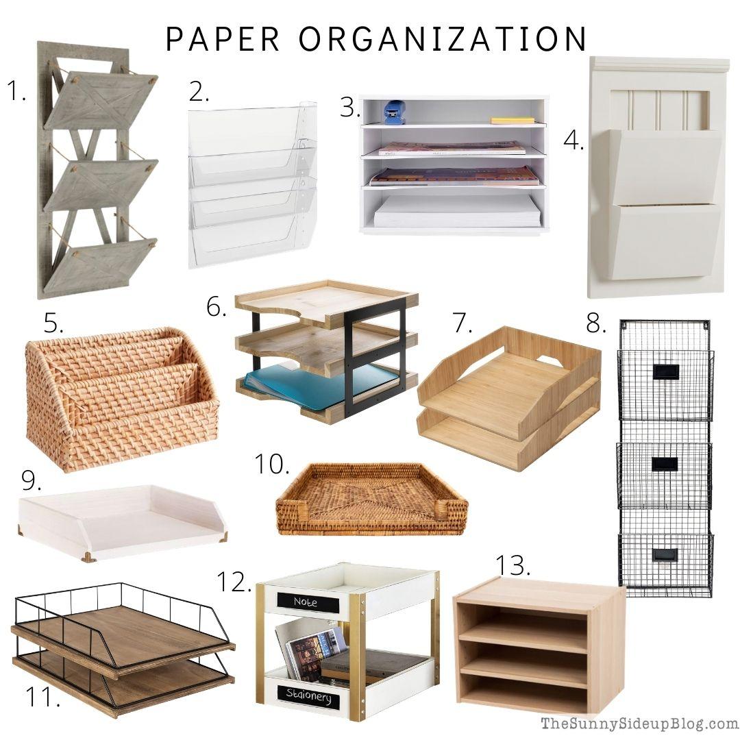 Paper Organization (thesunnysideupblog.com)