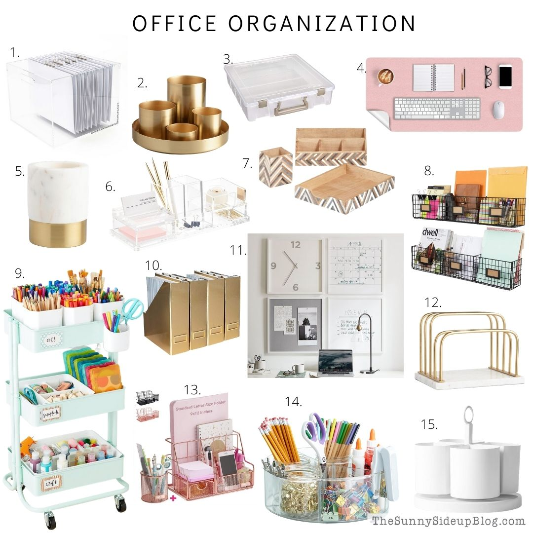office organization (thesunnysideupblog.com)