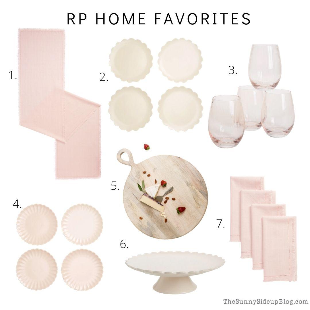 RP Home Favorites (thesunnysideupblog.com)