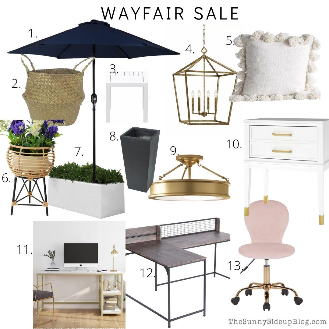 Wayfair Sale (thesunnysideupblog.com)
