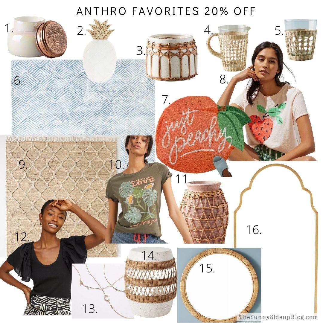 Anthro Favorites on Sale (thesunnysideupblog.com)
