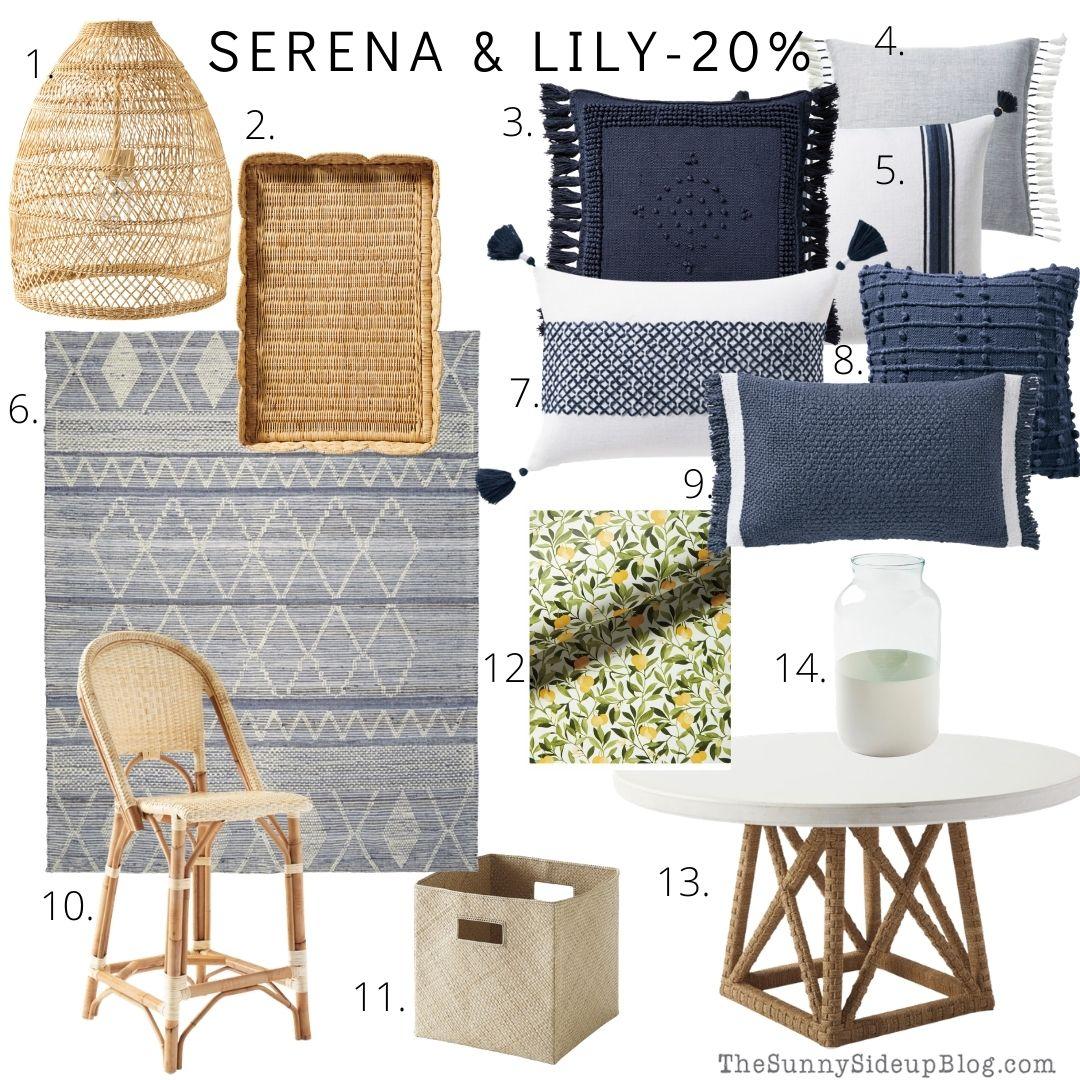 Serena & Lily Sale (thesunnysideupblog.com)