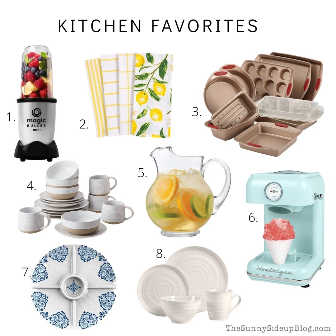 Kitchen Favorites (thesunnysideupblog.com)