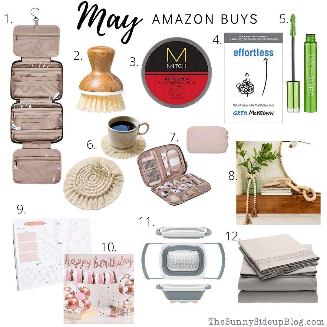 May. Amazon buys (thesunnysideupblog.com)