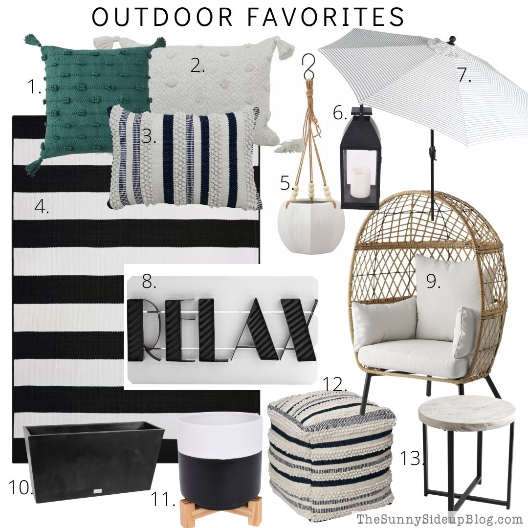 Outdoor Favorites (thesunnysideupblog.com)