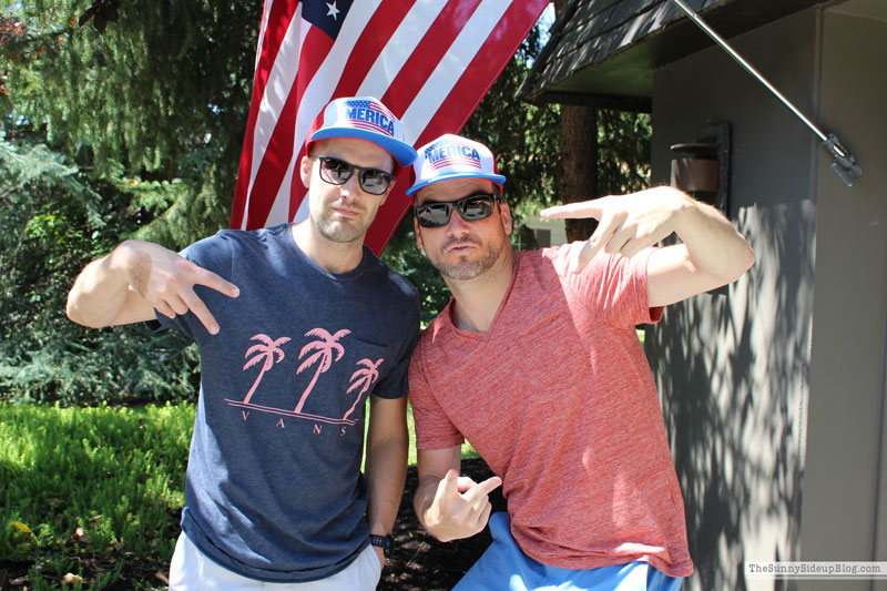 4th of July decor/outfits (Sunny Side Up)