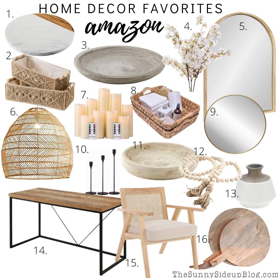 Amazon home Favorites (thesunnysideupblog.com)