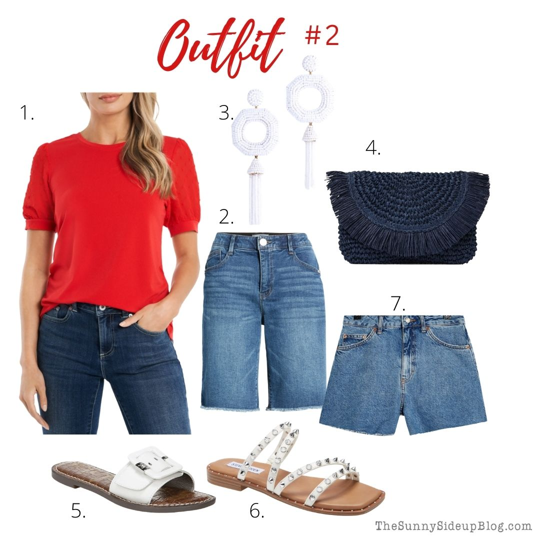 4th of July outfit (thesunnysideupblog.com)