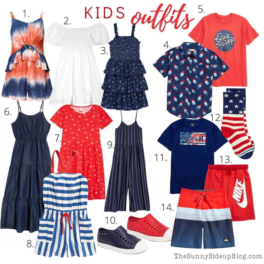 4th of July outfits (thesunnysideupblog)