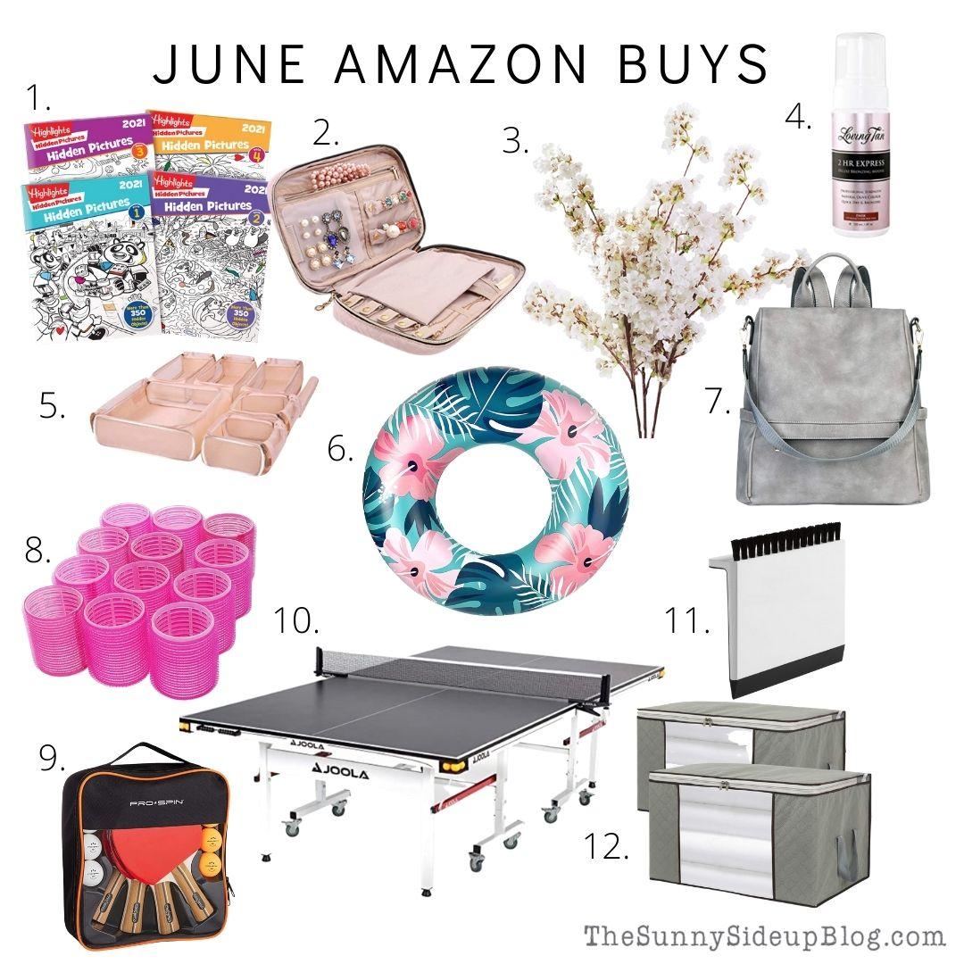 June Amazon Buys (Sunny Side Up)