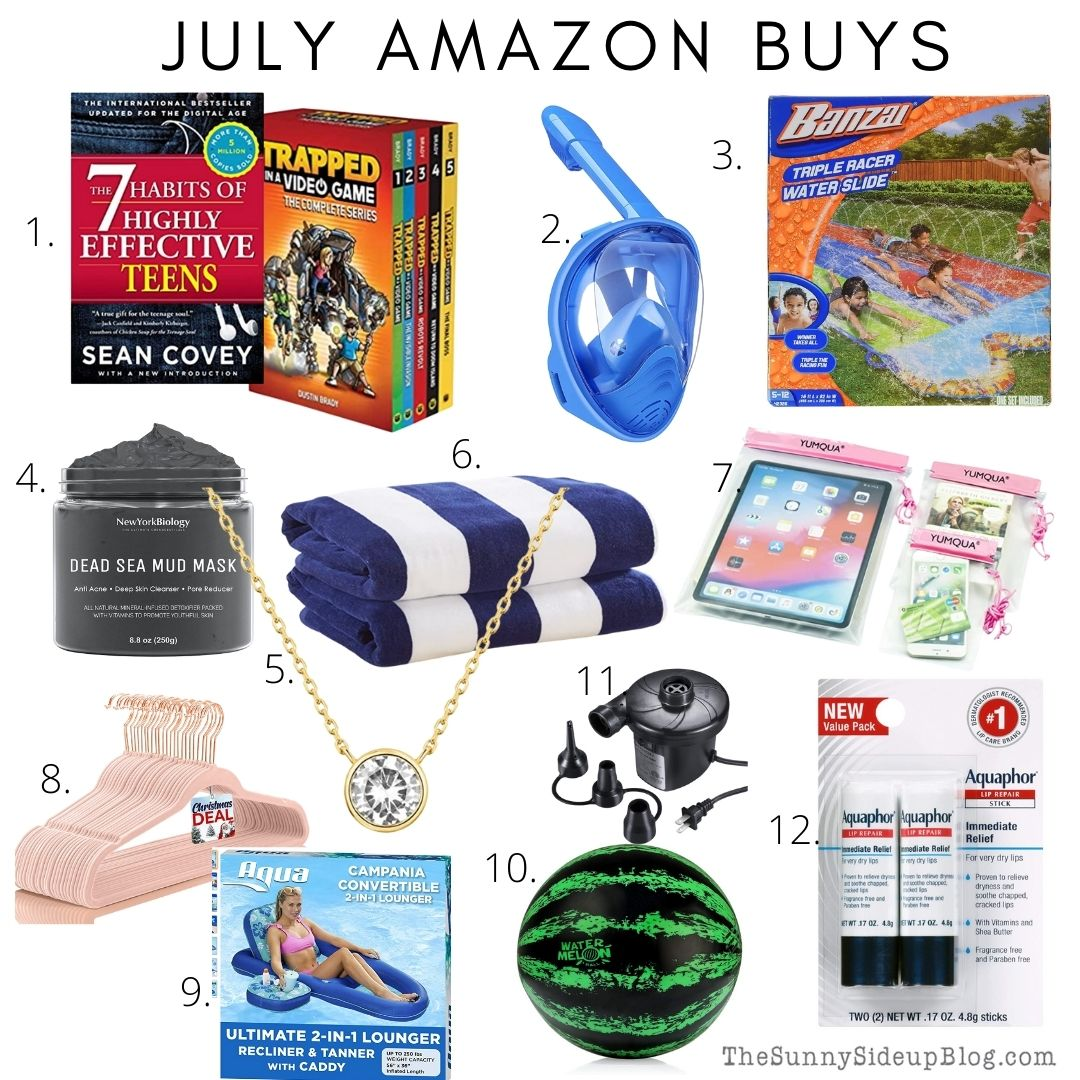 July Amazon Buys/Home Inspo. (Sunny Side Up)