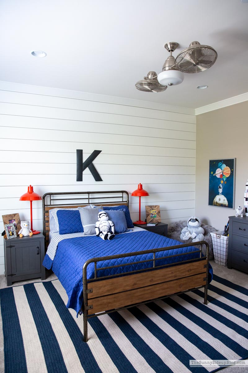 Boys Bedroom Re-fresh (Sunny Side Up)