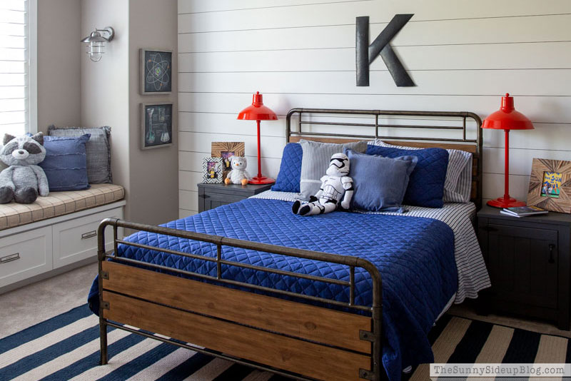 Boy's Bedroom Re-fresh