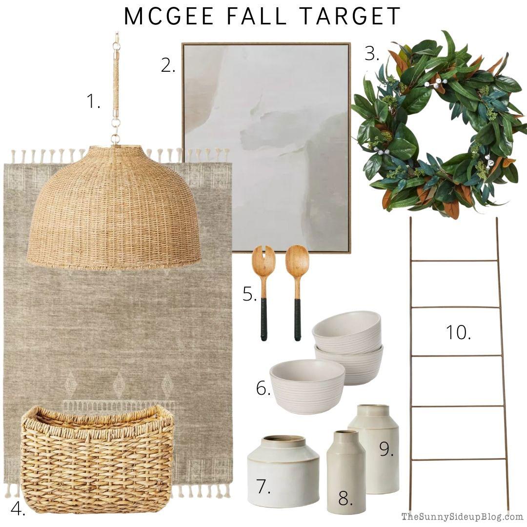 Fall decor (Sunny Side Up)
