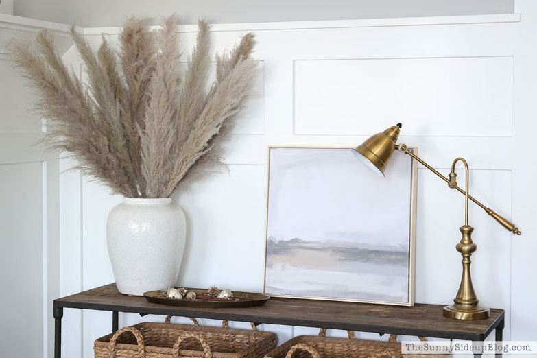 Fall Console, Pampas Grass, August Amazon Buys