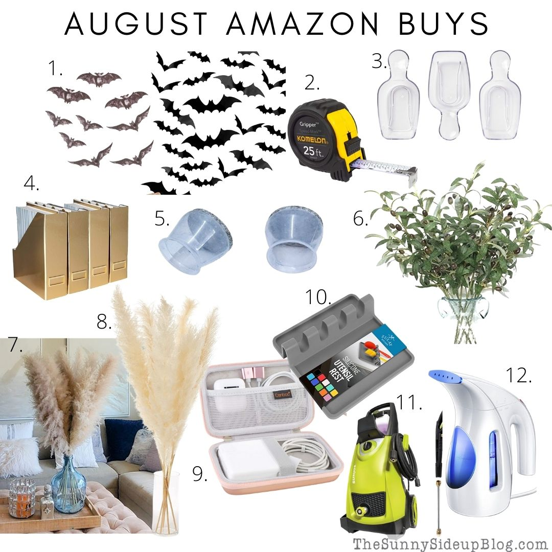 August Amazon Buys (Sunny Side Up)