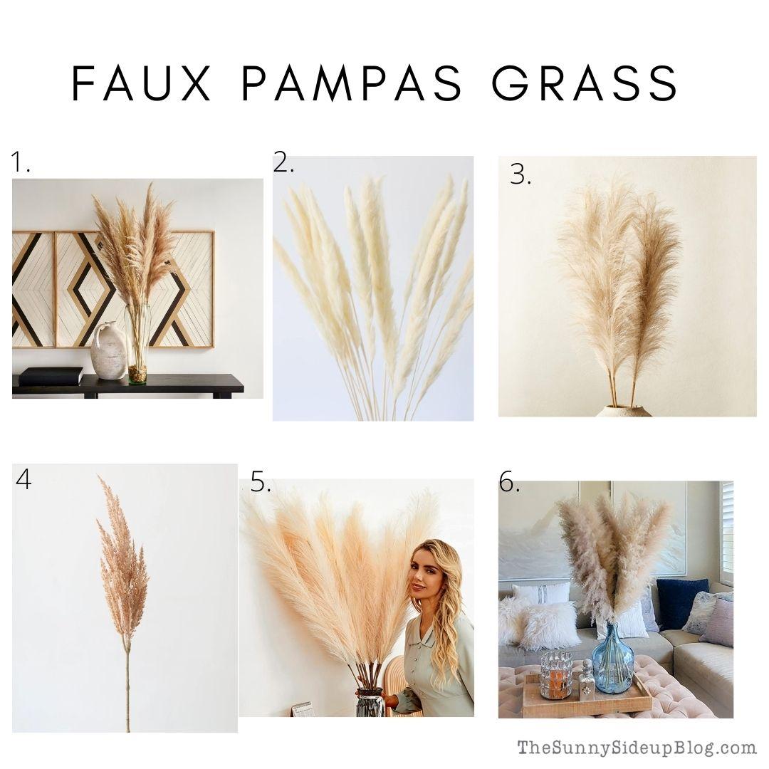 Faux pampas grass (thesunnysideupblog.com)