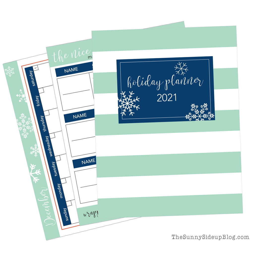 2021 Holiday Planner (Sunny Side Up)
